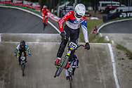 #623 (BARRY Todd) NZL during round 4 of the 2017 UCI BMX  Supercross World Cup in Zolder, Belgium.