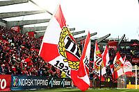 Fotball, 25. november 2012 , NM finale herrer , Cupfinalen<br /> Hødd - Tromsø 5-3 (etter straffekonk)<br /> Hødd norgesmester<br /> fan , fans , illustrasjon , banner , tribune<br /> tifo , flagg ,
