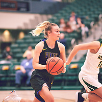 during the Women's Basketball Home Game on Thu Feb 14 at Centre for Kinesiology,Health and Sport. Credit: Arthur Ward/Arthur Images