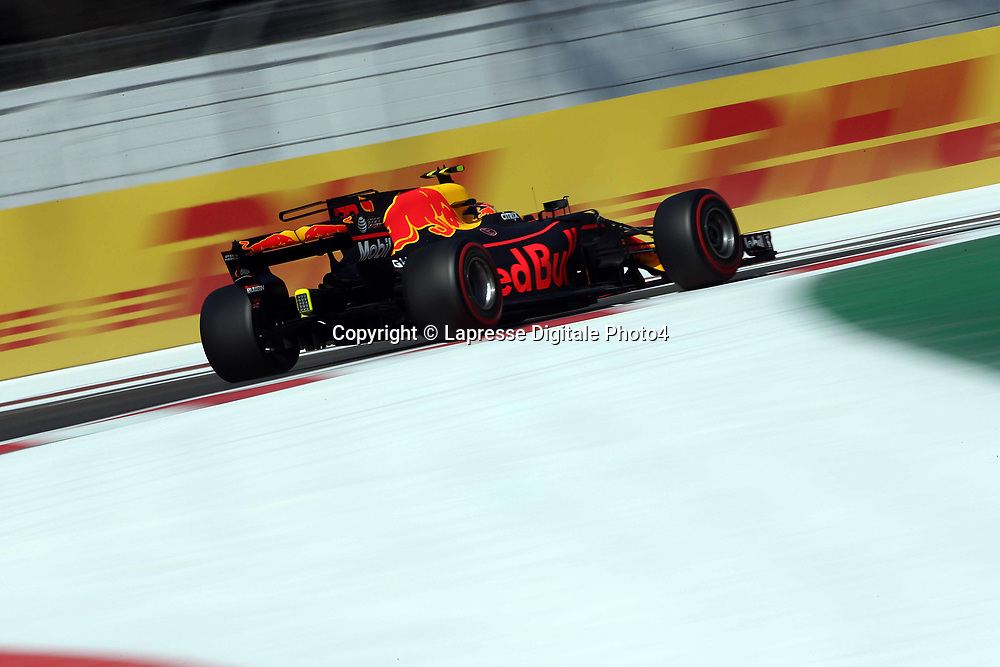 &copy; Photo4 / LaPresse<br /> 27/10/2017 Mexico City, Mexico<br /> Sport <br /> Grand Prix Formula One Mexico 2017<br /> In the pic: Max Verstappen (NED) Red Bull Racing RB13