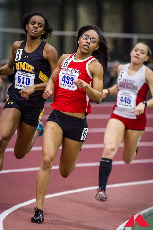 ECAC Indoor Champs, womens 500, heat 5 Rodrigues, Nastasya       SR St. John's