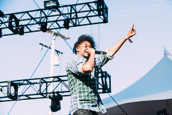 Danny Brown performs at The Treasure Island Music Festival - San Francisco, CA - 10/19/13