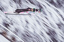 02.02.2019, Heini Klopfer Skiflugschanze, Oberstdorf, GER, FIS Weltcup Skiflug, Oberstdorf, im Bild Jakub Wolny (POL) // Jakub Wolny of Poland during the FIS Ski Jumping World Cup at the Heini Klopfer Skiflugschanze in Oberstdorf, Germany on 2019/02/02. EXPA Pictures © 2019, PhotoCredit: EXPA/ JFK