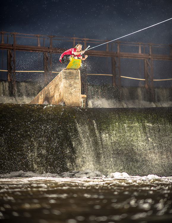 Chris Abadie shot for Alliance Wakeboard Magazine Photo Annual in Prattville, Alabama.