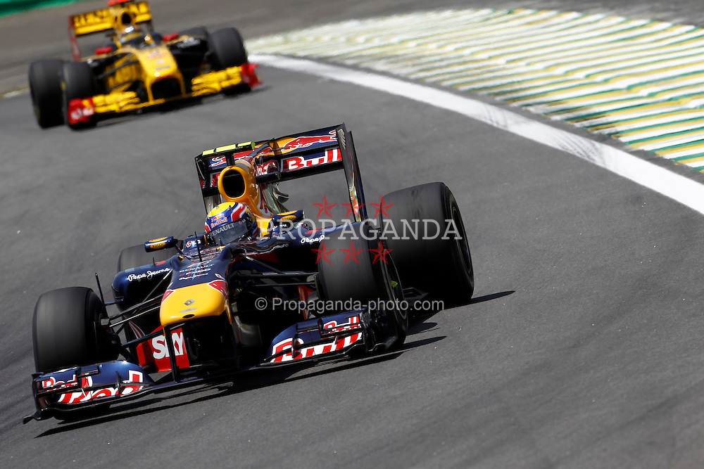 Motorsports / Formula 1: World Championship 2010, GP of Brazil, 06 Mark Webber (AUS, Red Bull Racing),