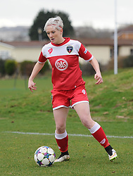 Bristol Academy's Lauren Townsend in action during the pre-season friendly between Bristol Academy Women and Aston Villa Ladies at Stoke Gifford Stadium on 1 March 2015 in Bristol, England - Photo mandatory by-line: Paul Knight/JMP - Mobile: 07966 386802 - 01/03/2015 - SPORT - Football - Bristol - Stoke Gifford Stadium - Bristol Academy Women v Aston Villa Ladies - Pre-season friendly