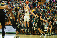 Vermont's Cam Ward (14) takes a shot during the men's basketball game between the Dartmouth Big Green and the Vermont Catamounts at Patrick Gym on Wednesday December 7, 2016 in Burlington (BRIAN JENKINS/for the FREE PRESS)