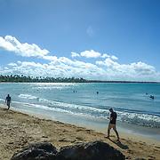 SAN JUAN, PUERTO RICO -- JANUARY 31, 2019: <br /> The beach known as Vacia Talega in the coastal town of Loiza, just outside San Juan, Puerto Rico.<br /> (Photo by Angel Valentin)