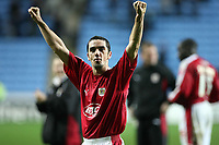 Photo: Rich Eaton.<br /> <br /> Coventry City v Bristol City. The FA Cup. 16/01/2007. Scott Murray scorer of the first goal celebrates their 2-0 away victory