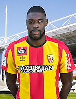 Jonathan NANIZAYAMO - 30.10.2015 - Portrait Officiel - Lens<br /> Photo : RC Lens / Icon Sport
