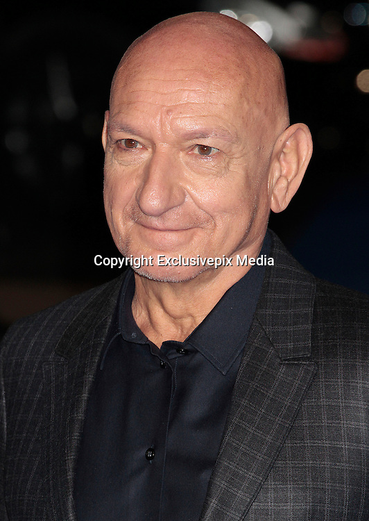 """Dec 9, 2014 - """"Night At The Museum: Secret Of The Tomb"""" - European Premiere - Red Carpet Arrivals at Empire,  Leicester Square, London<br /> <br /> Pictured: Sir Ben Kingsley<br /> ©Exclusivepix Media"""