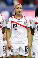 26 October 2014: Lixy Rodriguez (CRC). The United States Women's National Team played the Costa Rica Women's National Team at PPL Park in Chester, Pennsylvania in the 2014 CONCACAF Women's Championship championship game. By advancing to the final, both teams have qualified for next year's Women's World Cup in Canada. The United States won the game 6-0.