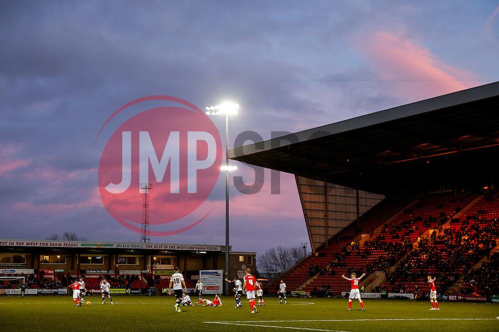 General View at the start of the second half - Photo mandatory by-line: Rogan Thomson/JMP - 07966 386802 - 20/12/2014 - SPORT - FOOTBALL - Crewe, England - Alexandra Stadium - Crewe Alexandra v Bristol City - Sky Bet League 1.