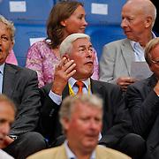 NLD/Amsterdam/20100731 - Wedstrijd om de JC schaal 2010 tussen Ajax - FC Twente, burgemeester Eberhard van der Laan, Henk Kessler en .....