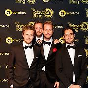 NLD/Amsterdam/20181011 - Televizier Gala 2018, Streetlab - Daan Boom , Jasper Demollin , Stijn van Vliet ,<br /> Tim Senders