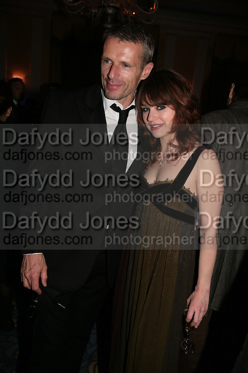 Lambert Wilson and Emilie Dequenne, Opening Gala of Rendez-Vous with French Cinema. Screening of La Vie En Rose and party afterwards at Claridges. 29 March 2007. -DO NOT ARCHIVE-© Copyright Photograph by Dafydd Jones. 248 Clapham Rd. London SW9 0PZ. Tel 0207 820 0771. www.dafjones.com.