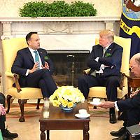 Washington - 3/14/18 - wWashington 3/15/18 - Taoiseach Leo Varadkar visit to White House and Capitol. Credit Marty Katz/washingtonphotographer.com