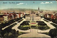 Zagreb Trg Franje Josipa.  <br /> I<br /> mpresum[S. l.] : Naklada Rudolf Polaček, [prije 1918].<br /> Materijalni opis1 razglednica : tisak ; 13,7 x 8,8 cm.<br /> NakladnikRudolf Polaček<br /> Vrstavizualna građa • razglednice<br /> ZbirkaZbirka razglednica • Grafička zbirka NSK<br /> Formatimage/jpeg<br /> PredmetZagreb –– Trg kralja Tomislava<br /> SignaturaRZG-TOM-70<br /> Obuhvat(vremenski)20. stoljeće<br /> NapomenaRazglednica je putovala 1918.<br /> PravaJavno dobro<br /> Identifikatori001000949<br /> NBN.HRNBN: urn:nbn:hr:238:493958 <br /> <br /> Izvor: Digitalne zbirke Nacionalne i sveučilišne knjižnice u Zagrebu