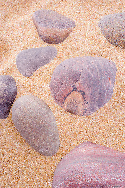 Pebbles at Red Point, Wester Ross, Scotland