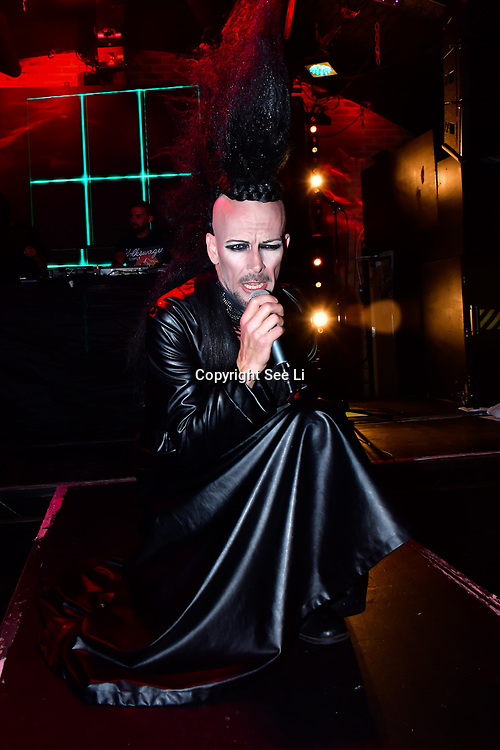 "Ross Alexander   performs at The Third Annual Integrity Awards by Dragon Lady Productions and The Peace Project 21st ""The Alternative Fashion Integrity Awards 2019 & Film Networking Soirée"" on 21 September 2019, Fire Club Vauxhall, London, UK."