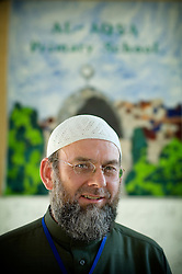 Ibrahim Hewitt, head teacher and founder of the Al-Aqsa Primary School, Leicester, England, UK.