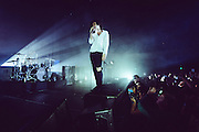 The 1975 performing live at The Masonic concert venue in San Francisco, CA on November 18, 2014