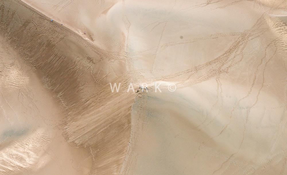 Great Sand Dunes National Park, vistors on the dunes. June 2014. 85485
