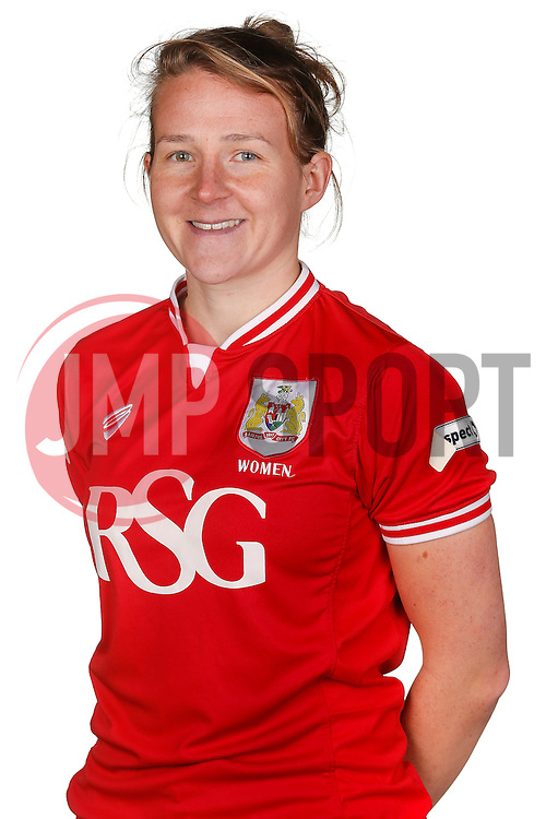 Frankie Fantom-Brown of Bristol City Women poses for a headshot - Mandatory byline: Rogan Thomson/JMP - 21/02/2016 - FOOTBALL - Stoke Gifford Stadium - Bristol, England - Bristol City Women Team Photos.