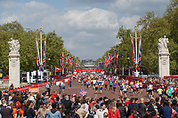 Runners during the Race Mass. The Virgin Money London Marathon, 23rd April 2017.<br /> <br /> Photo: Ben Queenborough for Virgin Money London Marathon<br /> <br /> For further information: media@londonmarathonevents.co.uk