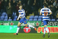 Goal, Oliver Norwood of Reading scores, Reading 1-1 Huddersfield Town - Mandatory byline: Jason Brown/JMP - 07966 386802 - 03/11/2015- FOOTBALL - Madejski Stadium - Reading, England - Reading v Huddersfield Town - Sky Bet Championship