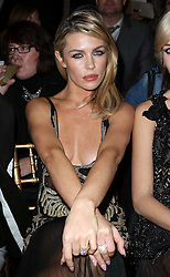 Abbey Clancy  at the Julien Macdonald show at London Fashion Week Autumn/Winter 2014/15 Saturday, 15th February 2014. Picture by Stephen Lock / i-Images