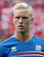 Uefa - World Cup Fifa Russia 2018 Qualifier / <br /> Iceland National Team - Preview Set - <br /> Hordur Bjorgvin Magnusson