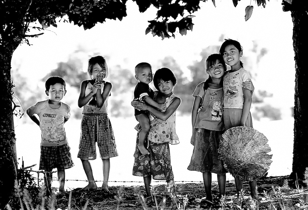 Childhood friends of Vanchet village, Savannakhet, Laos work, live, play and attend school together.