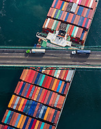 MOL Bellwether arrives at The Port of Los Angeles