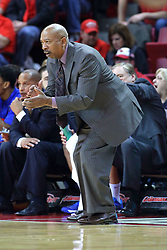 22 December 2013: Oliver Purnell  during an NCAA  mens basketball game between the Blue Demons of DePaul falling to  the Illinois State Redbirds 69-64 in Redbird Arena, Normal IL