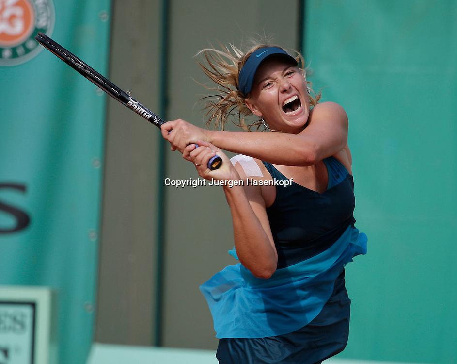 French Open 2009, Roland Garros, Paris, Frankreich,Sport, Tennis, ITF Grand Slam Tournament,  ..Maria Sharapova (RUS)..Foto: Juergen Hasenkopf..