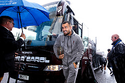 Bailey Wright of Bristol City arrives at Birmingham City for the Sky Bet Championship fixture - Mandatory by-line: Robbie Stephenson/JMP - 10/08/2019 - FOOTBALL - St Andrew's Stadium - Birmingham, England - Birmingham City v Bristol City - Sky Bet Championship
