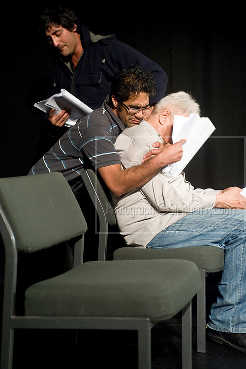 A reading of the stage play Hui by Mitch Tawhi Thomas, winner of the 2012 Playmarket Adam NZ Play Award, at Circa Theatre on 24 March 2012.