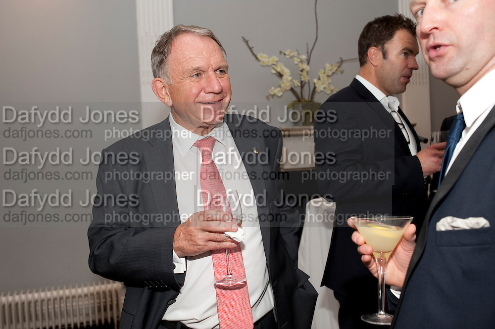 JOHN DAUTH; AUSTRALIAN HIGH COMMISSIONER;, MCA Sydney cocktails. Brandon rooms. ICA. London. 11 October 2011. <br /> <br />  , -DO NOT ARCHIVE-&copy; Copyright Photograph by Dafydd Jones. 248 Clapham Rd. London SW9 0PZ. Tel 0207 820 0771. www.dafjones.com.