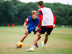 Tom Richards in action as Bristol City Under 23s return for a second day of training ahead of their 2017/18 Season - Rogan/JMP - 01/07/2017 - Failand Training Ground - Bristol, England.