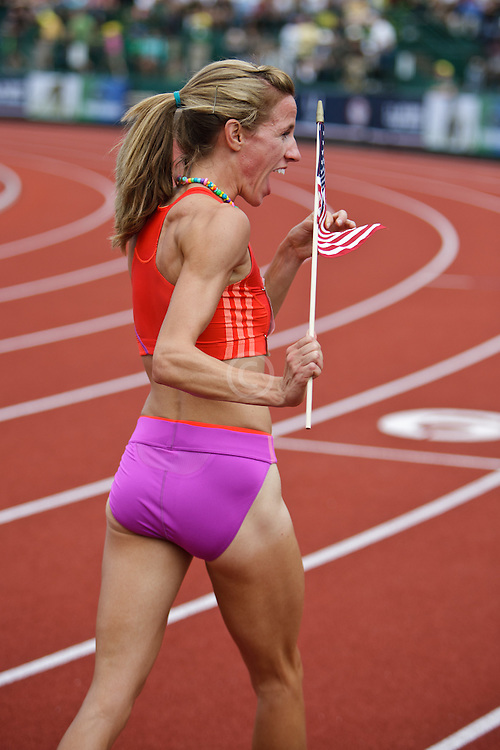 Olympic Trials Eugene 2012: Uceny celebrates win and making Olympic team