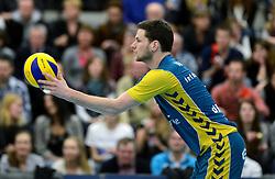 24-03-2013 VOLLEYBAL: ABIANT LYCURGUS - LANDSTEDE VOLLEYBAL: GRONINGEN<br /> Play-off finale best of 5 - Zwolle wint de vierde wedstrijd met 3-2 / Mark van Lenthe<br /> &copy;2013-FotoHoogendoorn.nl