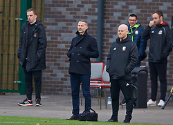 WREXHAM, WALES - Wednesday, October 30, 2019: Wales' head coach Richard Williams during the 2019 Victory Shield match between Wales and Republic of Ireland at Colliers Park. (Pic by David Rawcliffe/Propaganda)