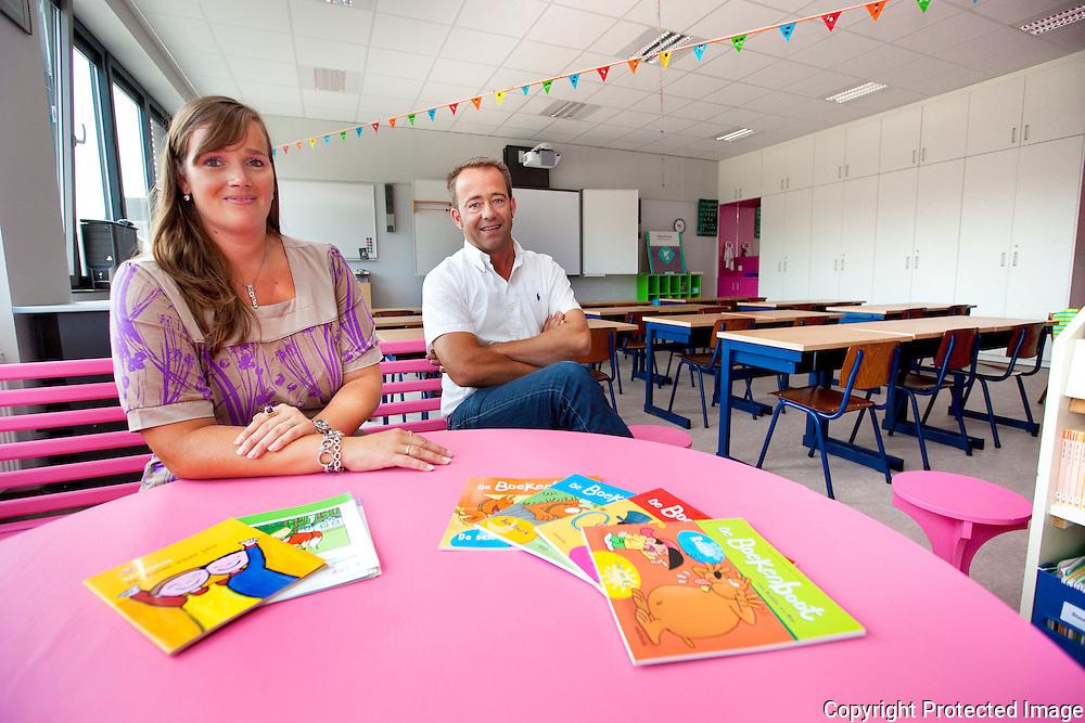362126-kOsh Basisschool stelt nieuw schoolgebouw voor-Nonnenstraat Herentals-Ellen Stoops en Kris Gielen