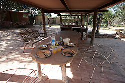 NAMIBIA GROOTFONTEIN 2MAY14 - Guest breakfast table at the Omega Guest Farm near Grootfontein, Namibia.<br /> <br /> <br /> <br /> jre/Photo by Jiri Rezac<br /> <br /> <br /> <br /> © Jiri Rezac 2014