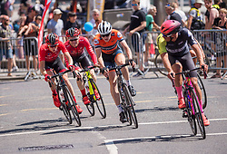 © Licensed to London News Pictures.  08/07/2018; Bristol, UK. Bristol Grand Prix cycle road race in Bristol city centre. Photo credit: Simon Chapman/LNP