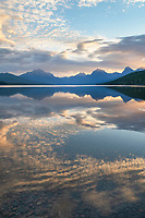 Sunrise at Lake McDonald Glacier National Park Montana