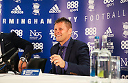 Steve Cotterill unveiled as Birmingham Manager, 1 Oct 2017