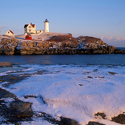 """The Nubble."" Cape Neddick Lighthouse.  York, ME"