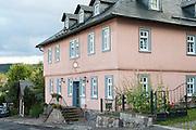 Altes Zechenhaus, Ilmenau, Thüringen, Deutschland | old pithead building, Ilmenau, Thuringia, Germany